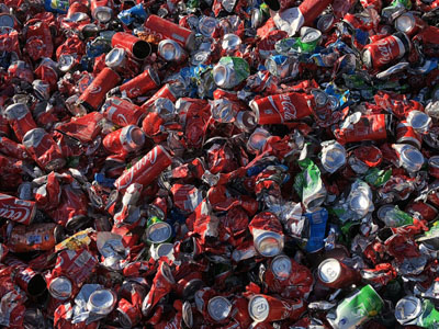 Cans recycling Ferralles Batlle